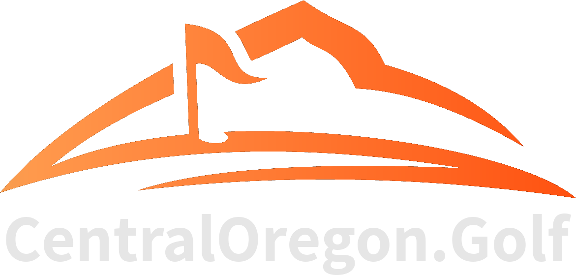 Central Oregon Golf Logo Text Link